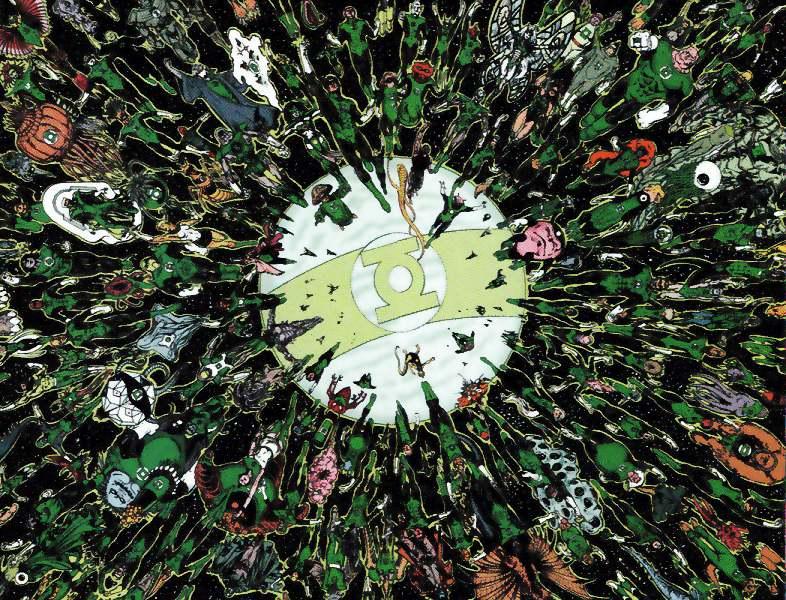 DC Comics Green Lantern Store